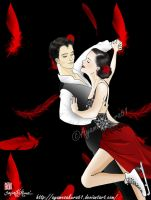 Tessa Virtue and Scott Moir by SayuriMVRomei