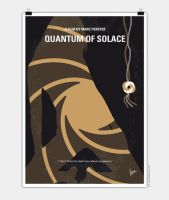 No277-007-2 My Quantum of Solace minimal poster by Chungkong