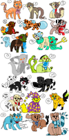 Adopts by Fuzz-Adoptables