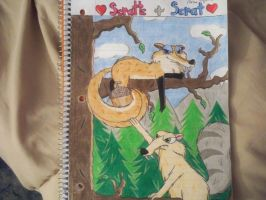 Scratte and Scrat by Shelby100