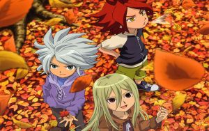Inazuma Eleven - Autumn by DoctaBojangles