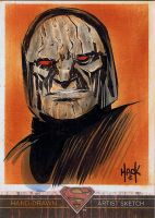 Superman: The Legend sketchcard 60 by RobertHack