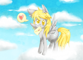 Derpy Hooves by lulu-fly