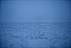 Lake Superior Frozen by Love2B