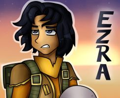Star Wars: Rebels - Ezra Bridger by KikiRDCZ