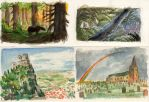 thumbnails watercolour by Nin-notte-in-neve