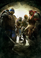Sintext poster for TEENAGE MUTANT NINJA TURTLES by jphomeentertainment