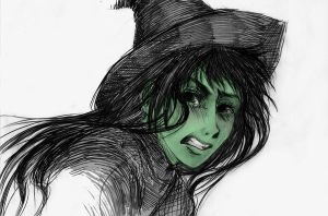 Elphaba by Sakebi-chan