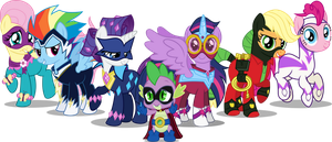 Power Ponies by NotLikelyAnArtist