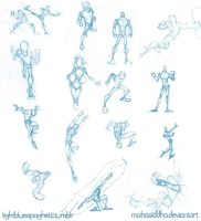 Sketch Dump: Figures by AdamMasterman