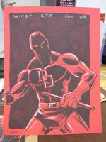 Daredevil from Windy City Con by Schoonz