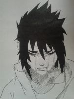 Sasuke crying by Rumiko-san
