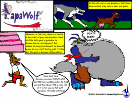 Papawolf comic 10 by NightCrestComics