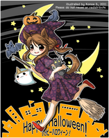 Happy Halloween 2011 by konoesuzumiya