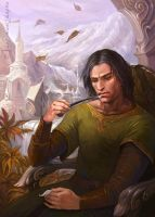 Aragorn in Rivendell by CG-Warrior