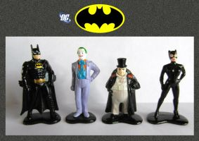 Batman - Miniatures by mikedaws