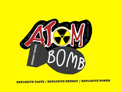 ATOM BOMB ENERGY DRINK LOGO by D3AD-MAD-HATT3R