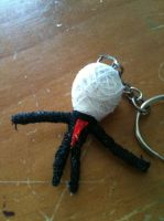 Slender Man String Doll by Bellathekid269