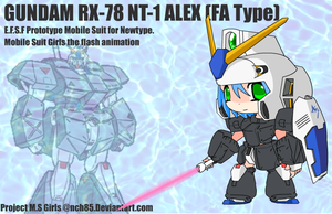 RX-78 NT-1 ALEX. FA type by NCH85