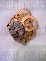Steam Punk Brooche by medieval-vampire121