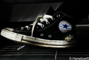 The converse shoe 1 by haneboe