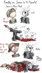 Freddy vs Jason in 4 Panels by zarla