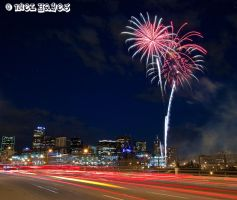 Coors Field Fireworks 1 by niel4