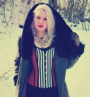 gothic girl-winter version3 by possion
