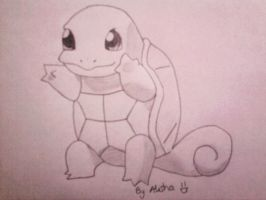 Squirtle by Lishu