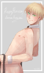 APH Half Naked Man Staring Seductively at Artist by Owyn-Sama