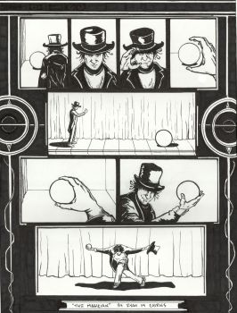 The Magician by ryanmcairns