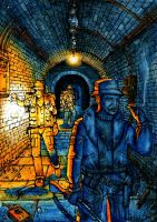 Creepy Tunnel 3 by Frohickey