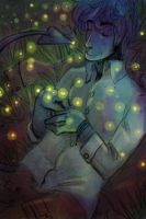 Fireflies by AlexServantes