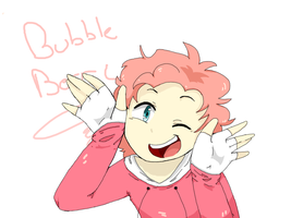 .:HUMAN:. Bubble Berry~! by fishinyourface