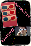 DW 3D glasses decal by vanessa1775