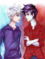 Jack Frost meets the Vampire King by Moondrophime
