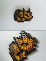 Chrono Trigger cat sleeping bead sprite magnet by 8bitcraft