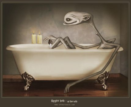 spyro bob in the bath by spyroteknik