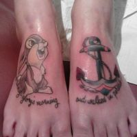 Thumper and anchor by IAteAllMyPaste