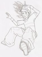 Sketch - Tom Falling by Reden-Reden