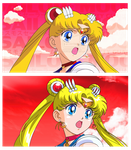SAILOR MOON CLASSIC MANGA - Sailor Moon by JackoWcastillo