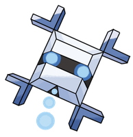 Snowflake Fakemon by Smiley-Fakemon