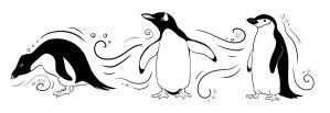 Penguins design by twapa