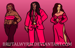 In Red by Brutalwyrm