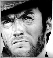 Clint Eastwood by bloodfilledlungs
