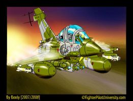 Mirage 2000D by Booly78