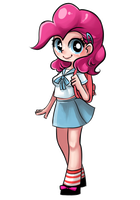 Student Pinkie Pie by basakdash