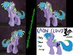 OC Kaon Cloud by agatrix