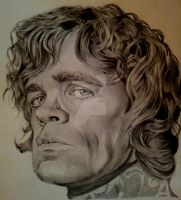 Tyrion Lannister by pencilsandpapercuts