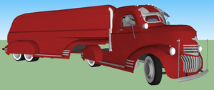 1948 Chevy cab over w/ matching trailer by 1970superbird